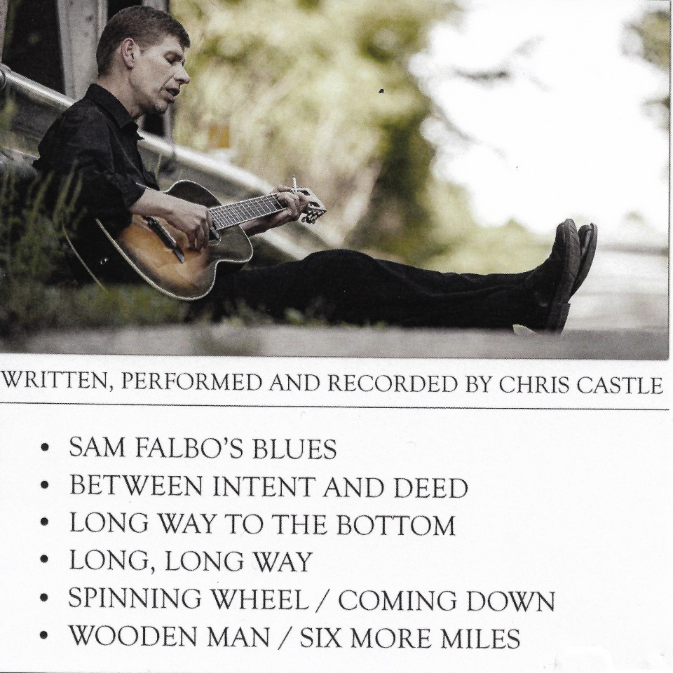 Chris Castle back album cover